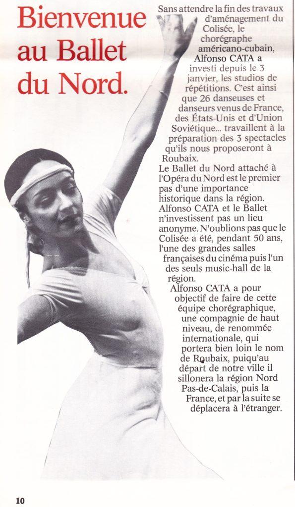Etoile au Ballet du Nord-FR, dir. A. Catà